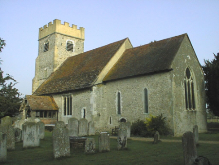 St Mary's church at dawn